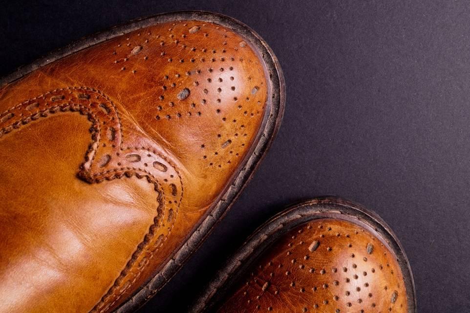 フルオーダーはスーツだけではない。革靴もフルオーダーで。