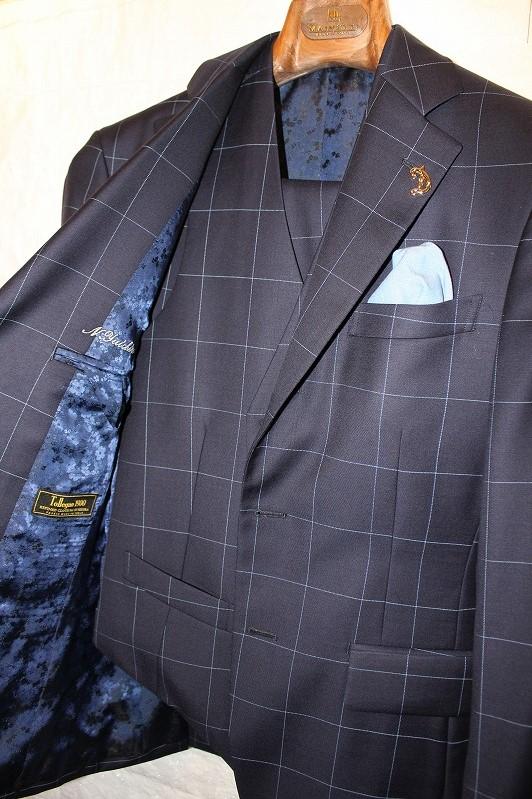ラニフィシオ・デ・トレーニョでスーツをお仕立て。