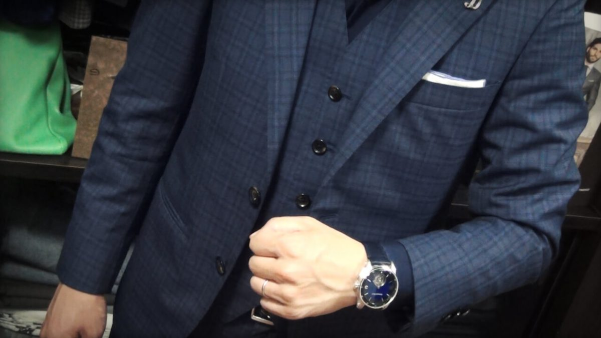 腕時計に合うコーディネート2