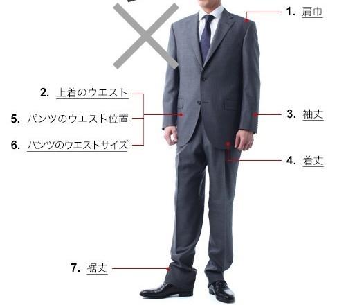 スーツ_ぶかぶか