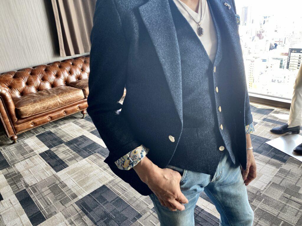 経営者の休日ファッション