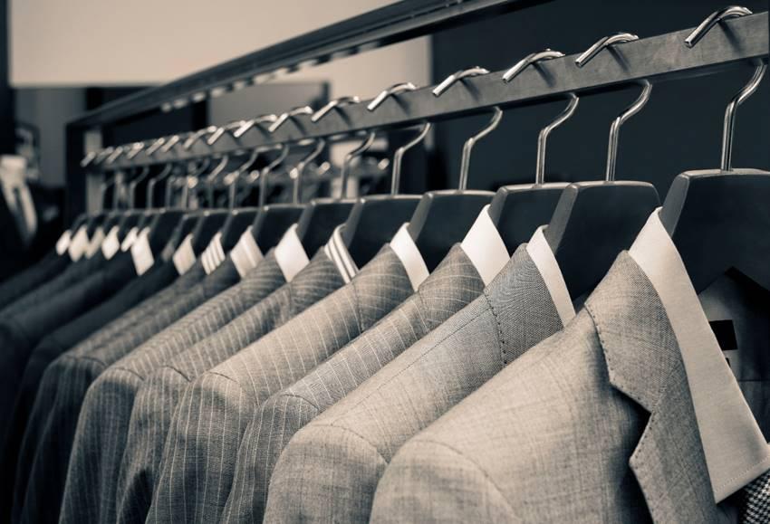 スーツ売り場