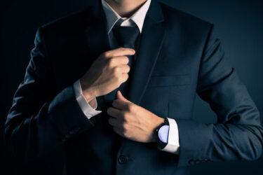 40代でもシンプルでかっこいいネクタイ