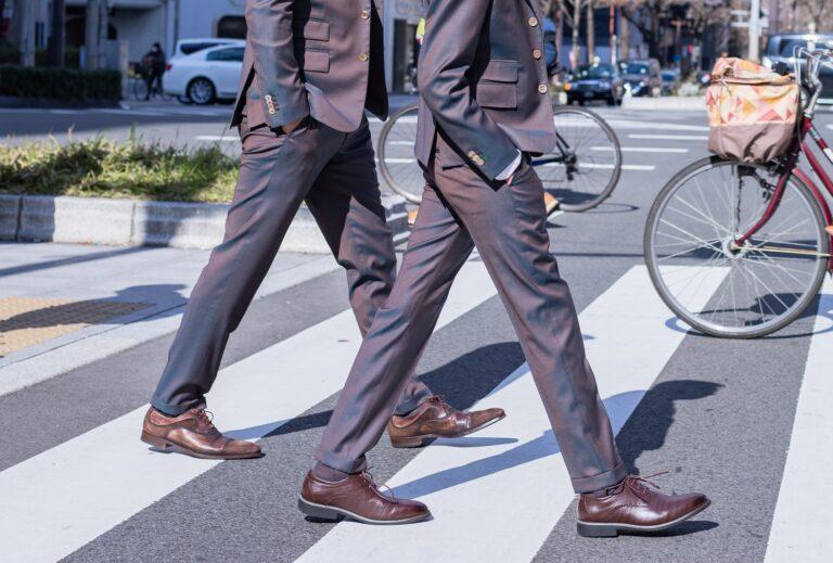 スーツ_靴下