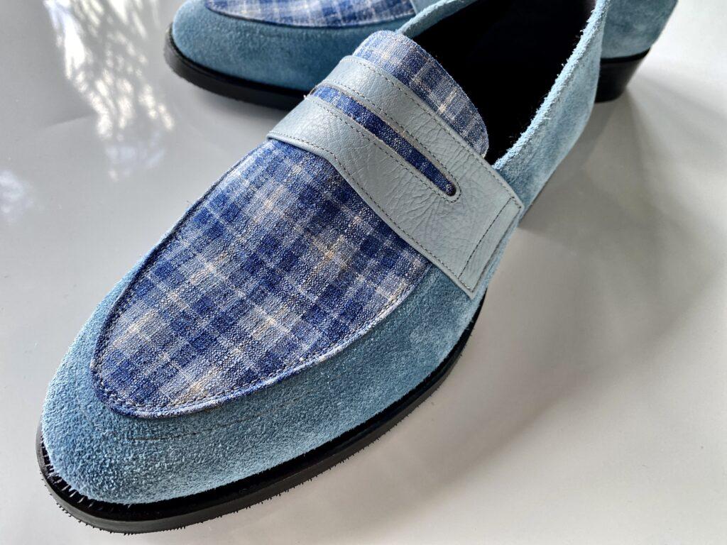 スウェード靴