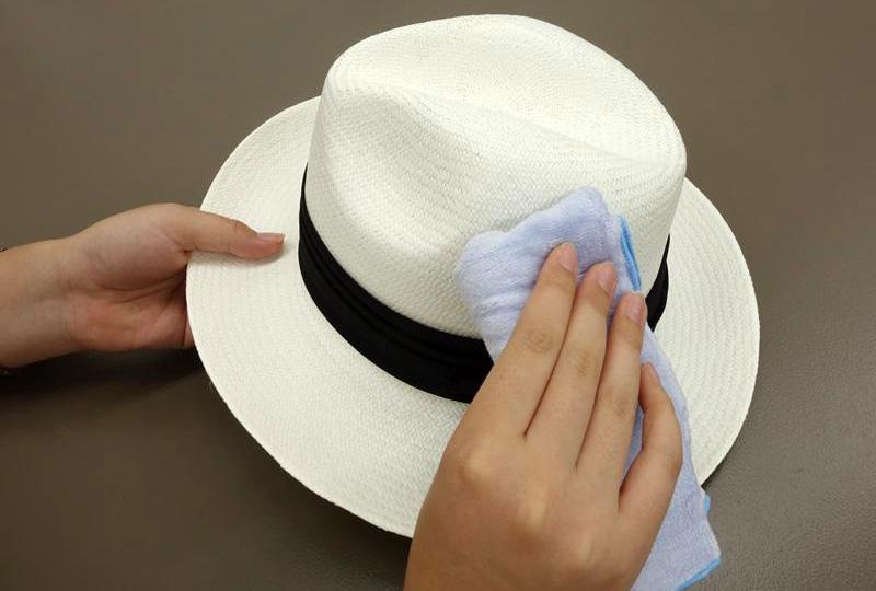 帽子お手入れ