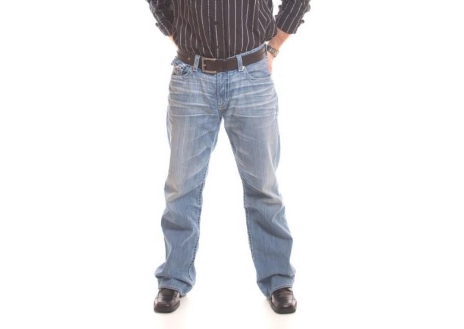 オーバーサイズジーンズ